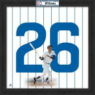 Chicago Cubs Billy Williams Uniframe Framed Jersey Photo