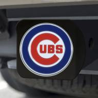 Chicago Cubs Black Color Hitch Cover