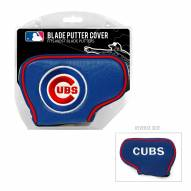 Chicago Cubs Blade Putter Headcover