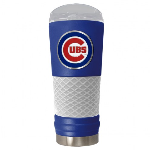 Chicago Cubs Blue 24 oz. Powder Coated Draft Tumbler