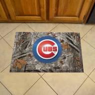 Chicago Cubs Camo Scraper Door Mat