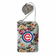 Chicago Cubs Canvas Floral Smart Purse