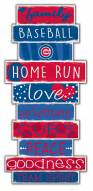 Chicago Cubs Celebrations Stack Sign