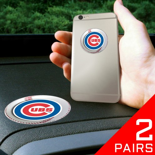 Chicago Cubs Cell Phone Grips - 2 Pack