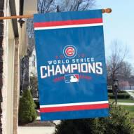 Chicago Cubs Champs Applique Banner Flag