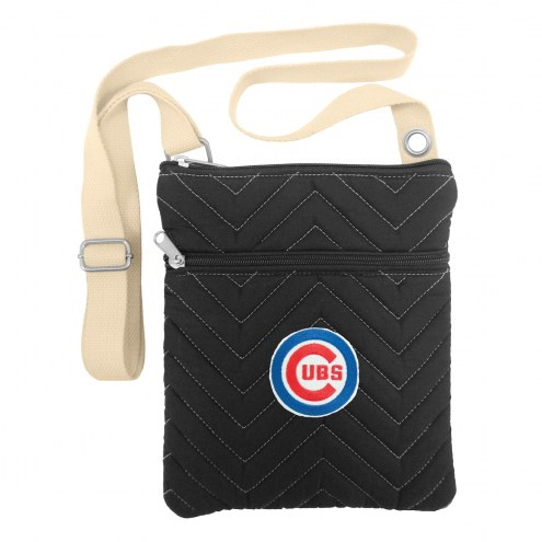 Chicago Cubs Chevron Stitch Crossbody Bag