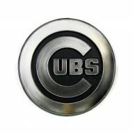 Chicago Cubs Chrome Car Emblem