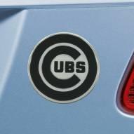 Chicago Cubs Chrome Metal Car Emblem