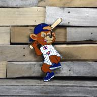 "Chicago Cubs Clark Batting 12"" Steel Logo Sign"
