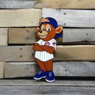 "Chicago Cubs Clark Standing 12"" Steel Logo Sign"
