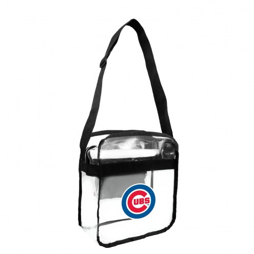 Chicago Cubs Clear Crossbody Carry-All Bag