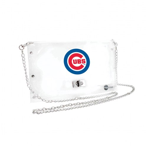 Chicago Cubs Clear Envelope Purse