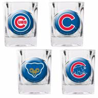 Chicago Cubs Collector's Shot Glass Set
