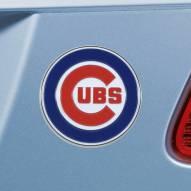 Chicago Cubs Color Car Emblem