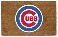 Chicago Cubs Colored Logo Door Mat