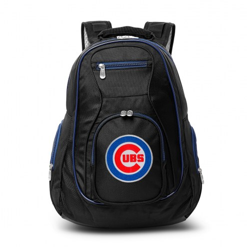 MLB Chicago Cubs Colored Trim Premium Laptop Backpack