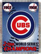 Chicago Cubs Commemorative Throw Blanket