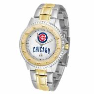 Chicago Cubs Competitor Two-Tone Men's Watch