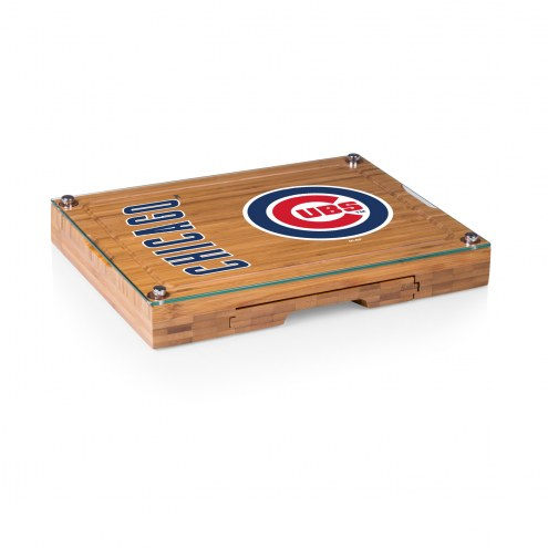 Chicago Cubs Concerto Bamboo Cutting Board