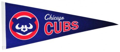 Chicago Cubs MLB Cooperstown Pennant