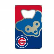 Chicago Cubs Credit Card Style Bottle Opener