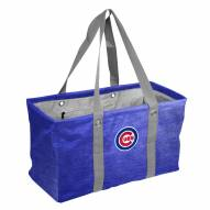 Chicago Cubs Crosshatch Picnic Caddy