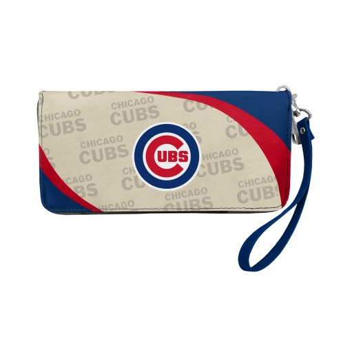 Chicago Cubs Curve Zip Organizer Wallet