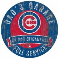 Chicago Cubs Dad's Garage Sign
