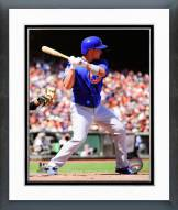Chicago Cubs Darwin Barney Action Framed Photo