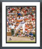 Chicago Cubs Dennis Eckersley pitching Framed Photo
