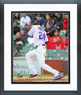 Chicago Cubs Dexter Fowler Action Framed Photo