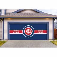 Chicago Cubs Double Garage Door Cover