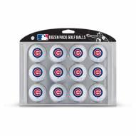 Chicago Cubs Dozen Golf Balls