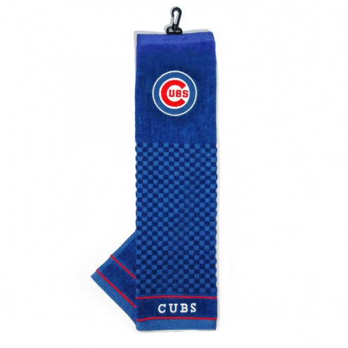 Chicago Cubs Embroidered Golf Towel