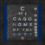 Chicago Cubs Eye Chart