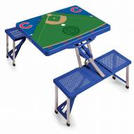 Chicago Cubs Folding Picnic Table