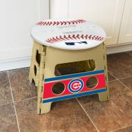 Chicago Cubs Folding Step Stool