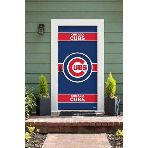 Chicago Cubs Front Door Cover