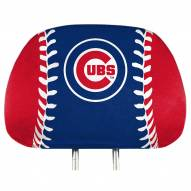 Chicago Cubs Full Print Headrest Covers