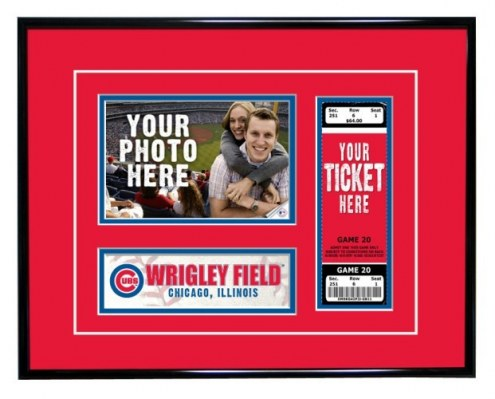 Chicago Cubs Game Day Ticket Frame