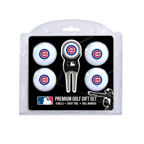 Chicago Cubs Golf Ball Gift Set