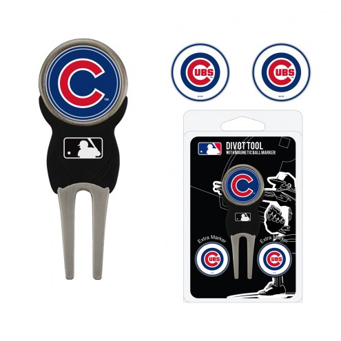 Chicago Cubs Golf Divot Tool Pack