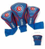 Chicago Cubs Golf Headcovers - 3 Pack