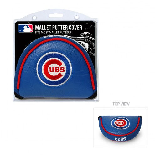 Chicago Cubs Golf Mallet Putter Cover