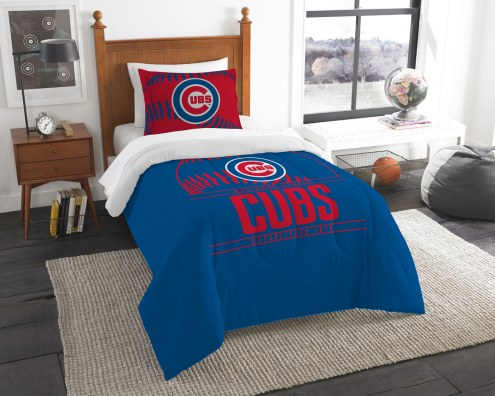 Chicago Cubs Grand Slam Twin Comforter Set