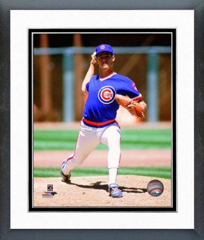 Chicago Cubs Greg Maddux 1989 Action Framed Photo