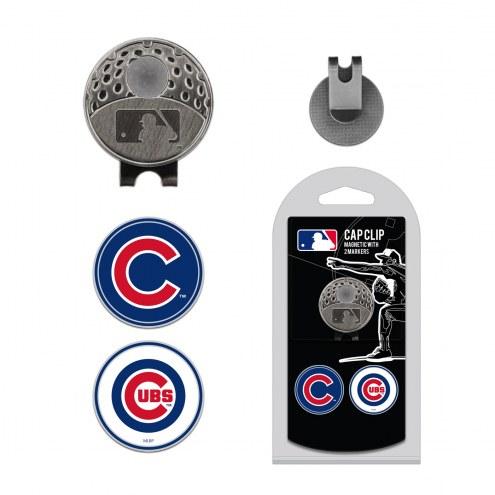 Chicago Cubs Hat Clip & Marker Set