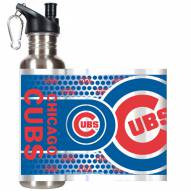 Chicago Cubs Hi-Def Stainless Steel Water Bottle