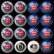 Chicago Cubs MLB Home vs. Away Pool Ball Set