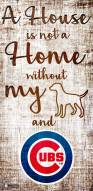 Chicago Cubs House is Not a Home Sign